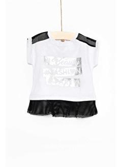 çikoby Çikoby Kız Bebek Baskılı Elbise CB-CK2539